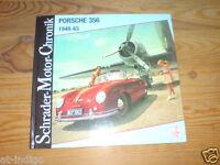 Schrader Motor Chronik Porsche 356 von 1948-65 Porsche 356 C Speedster & Spyder