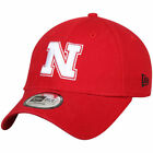 Nebraska Cornhuskers New Era Relaxed 49FORTY Fitted Hat - Scarlet - NCAA