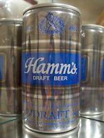 HAMMS DRAFT   OLD BEER CAN ALUM 73-33 B HAS NO  UPC