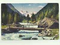 Rosegtal Switzerland 1924 Postcard 0635