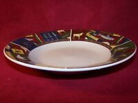 "American Atelier ~ Northern Nights ~ Rimmed Soup / Cereal Bowl 9""  # 5845"