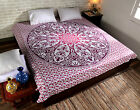 Queen Wall Hanging Hippie Indian Mandala Bedspread Tapestry bohemian Ethnic r6