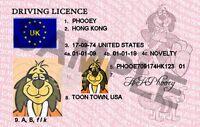 HONG KONG PHOOEY NOVELTY (NEW)