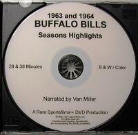 1963 & 1964 Buffalo Bills AFL Highlights now on DVD!