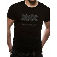 AC/DC Back In Black T-Shirt Small - Brand New!