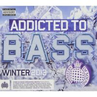 Addicted to Bass Winter 2013 3CD - Brand New!