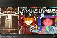 JAPAN Evangelion Movie Film Book vol.1~3 Complete set