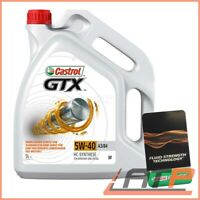 5 L LITRE CASTROL GTX 5W-40 A3/B4 ENGINE OIL