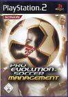 PS2 PS 2 Pro Evolution Soccer Management