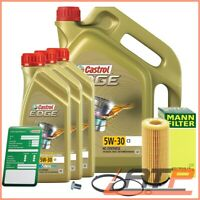 MANN-FILTER OIL FILTER+8L CASTROL EDGE FST 5W-30 C3 BMW 5 SERIES F07 F10 F11