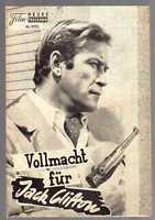 VOLLMACHT FÜR JACK CLIFTON / NFP 4153 Wien / Ken Clark, Philippe Hersent