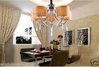 QD9002/5 D680mm * H800mm Parlor Bedroom 5 Lights K9 Crystal Chandelier