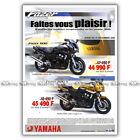 PUB YAMAHA FAZER 600 & FAZER 600 S - Ad / Publicité Moto de 2000