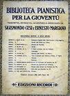 """"""" BIBLIOTECA PIANISTICA PER LA GIOVENTU' : SIGISMONDO CESI e ERNESTO MARCIANO """""""