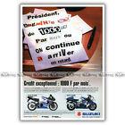 PUB SUZUKI GSX-R 1000 & GSXR 1300 HAYABUSA - Ad / Publicité Moto de 2001