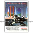 PUB GUZZI 1000 CALIFORNIA II - Original Advert / Publicité Moto de 1983