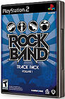 Rock Band Track Pack Vol. 1 SEALED COMPLETE Sony PlayStation 2 PS PS2 VOLUME
