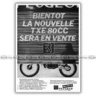 PUB PEUGEOT TXE 80 TOUT-TERRAIN - Original Advert / Publicité Moto de 1980