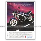 PUB SUZUKI GS 500 E GS500E GS500 GSE - Ad / Publicité Moto de 1991