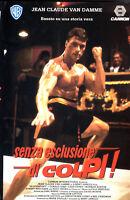 Senza esclusione di colpi! (1987) VHS 1a Ed. WB - Van Damme