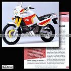 #CMP.111 YAMAHA XTZ 750 SUPER TENERE 1989 Fiche Moto