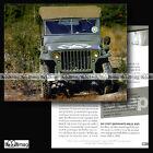 #CVP.085 JEEP WILLYS 1941 Fiche Auto