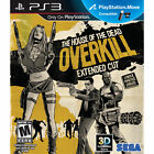The House of the Dead Overkill Extended Cut RE-SEALED Sony PlayStation 3 PS PS3