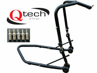 Motorcycle HEADSTOCK Head Lift Paddock Motorbike bike STAND Track