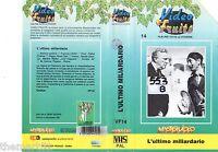 L' ultimo miliardario (1934) VHS Master  Video Sampaolo René Clair Max Dearly
