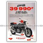 PUB KAWASAKI ZEPHYR 750 - Ad / Publicité Moto de 1998