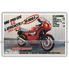 PUB GODIER-GENOUD Kawasaki 1100 GPZ - Original Advert / Publicité Moto de 1983