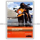 PUB KTM 950 SUPERMOTO - Ad / Publicité Moto de 2006