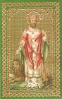 SANTINO HOLY CARD IMAGE PIEUSE - SAN S. FIORENTINO - VESCOVO E MARTIRE