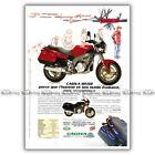 PUB CAGIVA 600 RIVER - Ad / Publicité Moto de 1995