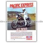 PUB YAMAHA XS 1100 'Pacific Express' - Original Advert / Publicité Moto de 1979