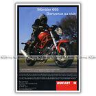 PUB DUCATI MONSTER 695 - Original Advert / Publicité Moto de 2006