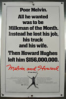 Melvin & Howard Original SS One Sheet Movie Poster 1980 27 x 40 Rolled