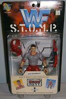 Ken Shamrock - WWF WWE Wrestling 1997 STOMP Series 1 Jakks Figure - NEW