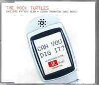 THE MOCK TURTLES Can You Dig It REMIXES DUTCH CD SINGLE