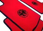 Alfa Romeo 156 TAPIS DE SOL ROUGE VELOURS