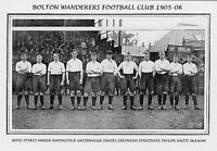 COLLECTION OF #60 BOLTON WANDERERS FOOTBALL TEAM PHOTOS