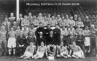 COLLECTION OF #60 MILLWALL FOOTBALL TEAM PHOTOS
