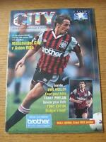 28/01/1995 Manchester City v Aston Villa [FA Cup] (Team Changes). No obvious fau