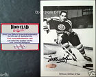 #1 WILLIE O'REE Signed 5x7 Boston Bruins Auto b/w Photo Ironclad COA Autograph