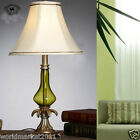New European Forest Green Resin + Glass Height 60cm Decoration Table Lamp