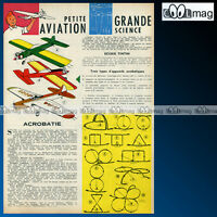 'Petite aviation' TINTIN HERGE - Article Presse 1962 #132