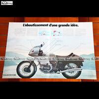 PUB BMW 1000 R 100 RS R100RS - Original Advert / Publicité Moto de 1976