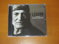 """WILLIE NELSON - """"Legend – The best of"""" – Cd – Nuovo."""