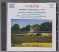POULENC COMPLETE CHAMBER MUSIC VOL 5 CD