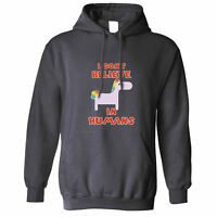 I Don't Believe In Humans Always Be A Unicorn Fantasy Girly Cute Unisex Hoodie